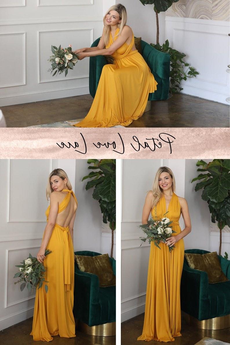 Bentuk Gamis Pernikahan Muslimah 3ldq Sunflower Yellow Bridesmaid Dresses