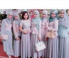 Bentuk Gamis Untuk Seragam Pernikahan Dddy 80 Best Kebaya Hijab Images In 2018