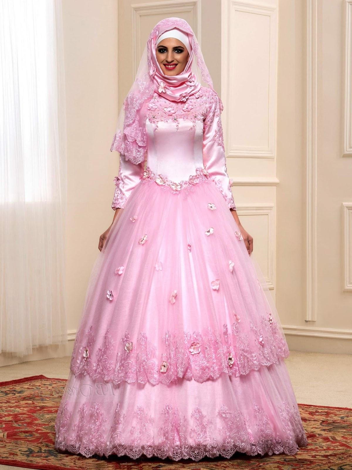 Bentuk Gamis Untuk Seragam Pernikahan Nkde 21 Gaun Pernikahan Wanita Arab Konsep Penting