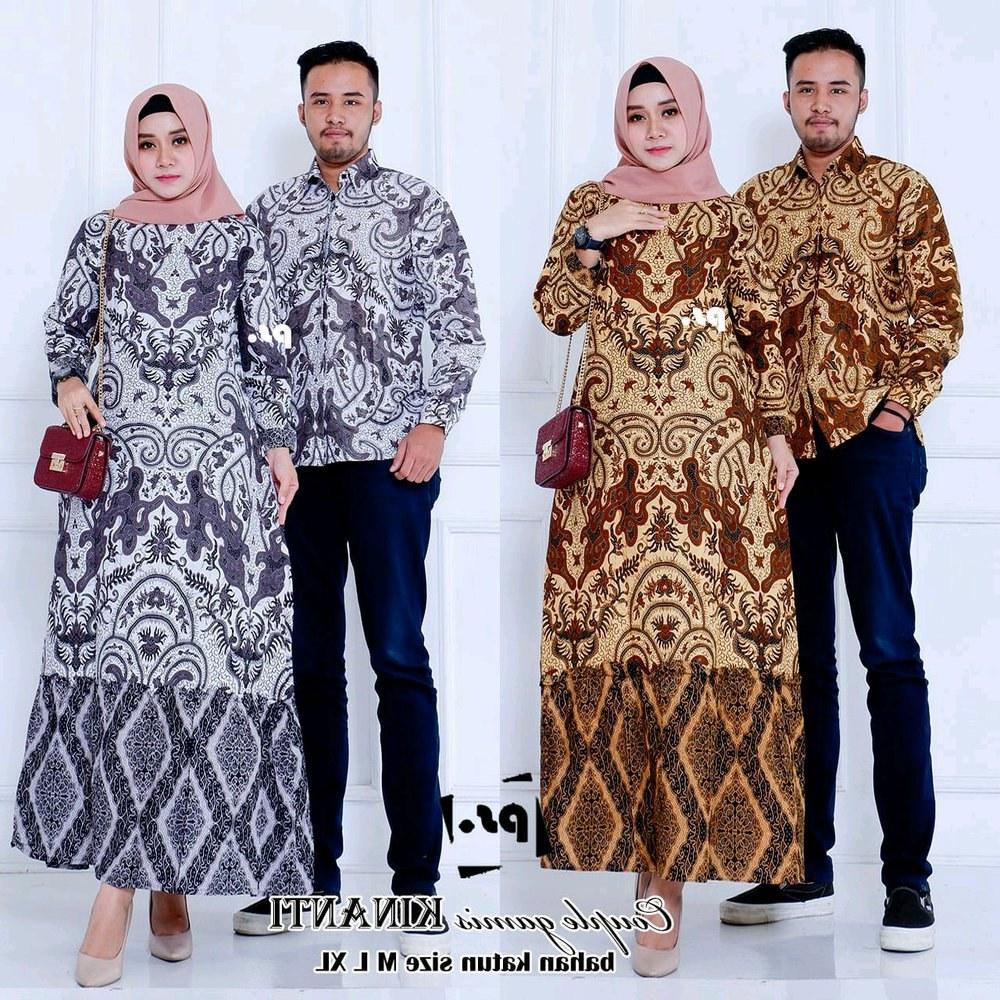 Bentuk Gamis Untuk Seragam Pernikahan Q0d4 Gamis Couple Pesta Gamis Brokat