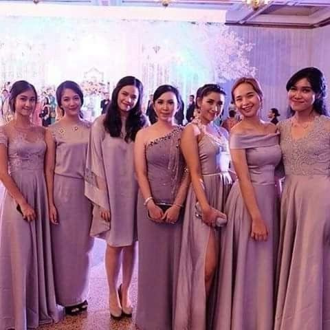 Bentuk Gamis Untuk Seragam Pernikahan X8d1 Inspiration Di 2019