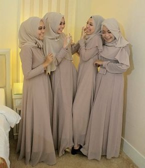 "Bentuk Inspirasi Bridesmaid Hijab Rldj Inspirasi Gaun Kebaya On Instagram ""inspired by Zadawilda"