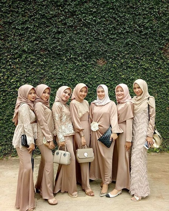 Bentuk Kebaya Bridesmaid Hijab Bqdd Bridesmaid Hijab Dress – Fashion Dresses