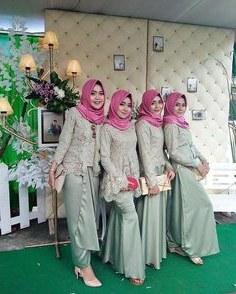 Bentuk Kebaya Bridesmaid Hijab Modern 8ydm 8 Best Bridesmaid Hijab Images