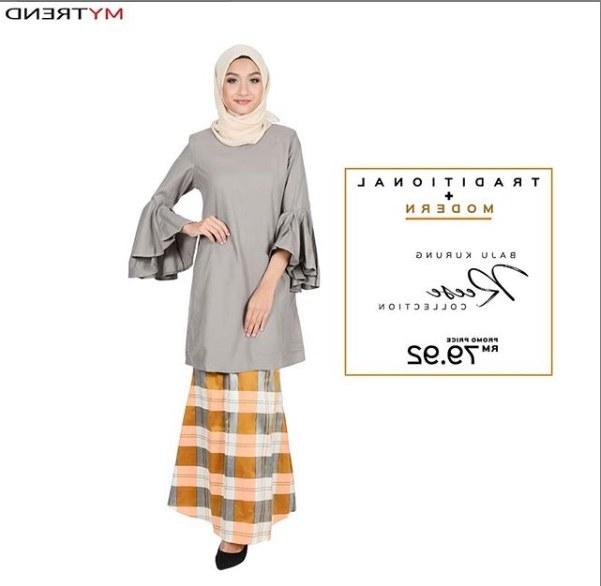 Bentuk Kebaya Bridesmaid Hijab Modern Rldj Mytrend S Muslimah Fashion Blog