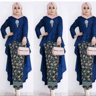 Bentuk Kebaya Bridesmaid Hijab Modern S5d8 Ready Kebaya Kencana Dt 🎵