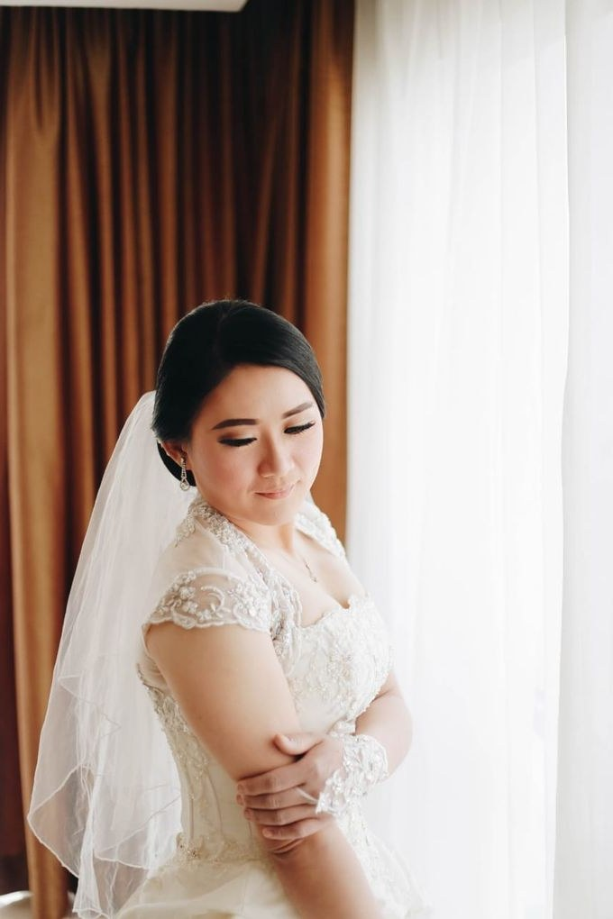 Bentuk Kebaya Bridesmaid Hijab Q0d4 Wedding Od Lie Bun Hoa Dan Meliana by Michelle Bridal