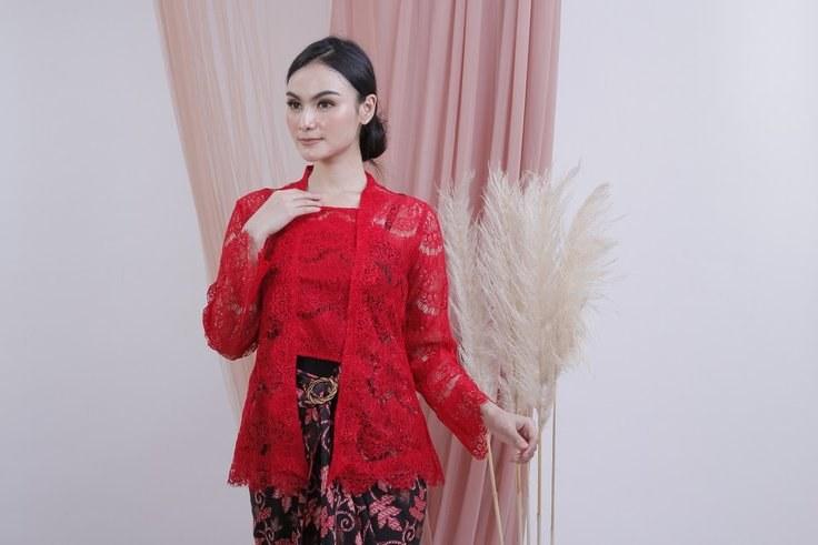 Bentuk Model Baju Bridesmaid Hijab Brokat 8ydm Review Kebaya Kutubaru Brokat Jadi Pilihan Utama Untuk