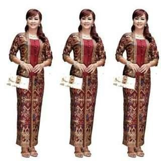 Bentuk Model Baju Bridesmaid Hijab Brokat Jxdu Nonya Kebaya Preorder Women S Fashion Muslimah Fashion On