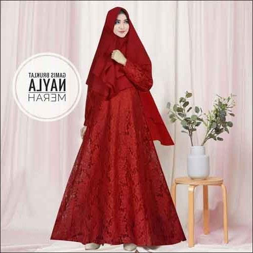 Bentuk Model Baju Gamis Untuk Pesta Pernikahan Jxdu Contoh Baju Gamis Untuk Kondangan
