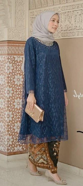 Bentuk Model Gamis Pernikahan Irdz Wedding Party Dress มุสลิม