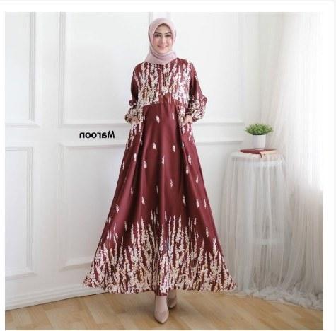 Bentuk Model Gamis Untuk Resepsi Pernikahan Wddj 28 Gamis Pesta Terbaru Model Baju Gamis Celana