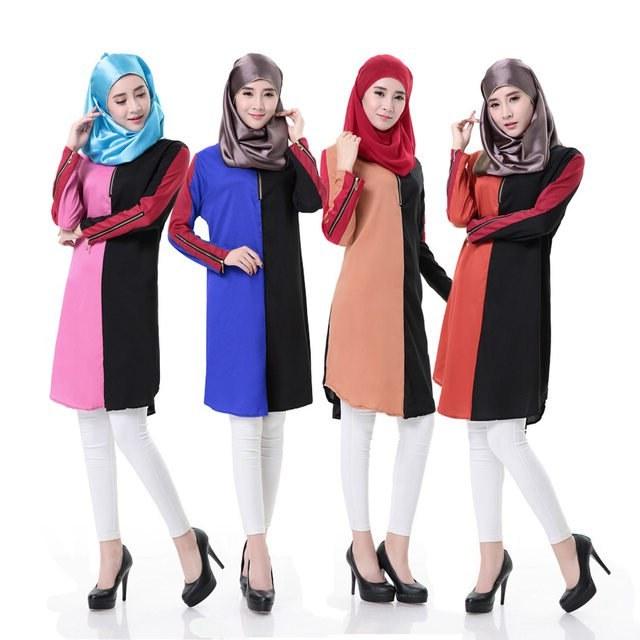 Bentuk Seragam Bridesmaid Hijab 4pde Patchwork islamic Clothing for Women Liner Chiffon Traditional Arabic Clothing islamic Abaya New Arrival Muslim Women Clothing In islamic Clothing