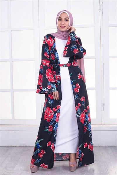 Bentuk Seragam Bridesmaid Hijab Thdr 2019 Muslim Dress Women islamic Clothing Bangladesh Turkish Hijab Dress islamic Ramadan islamic Dress Turkish Dresses Fashion Print From
