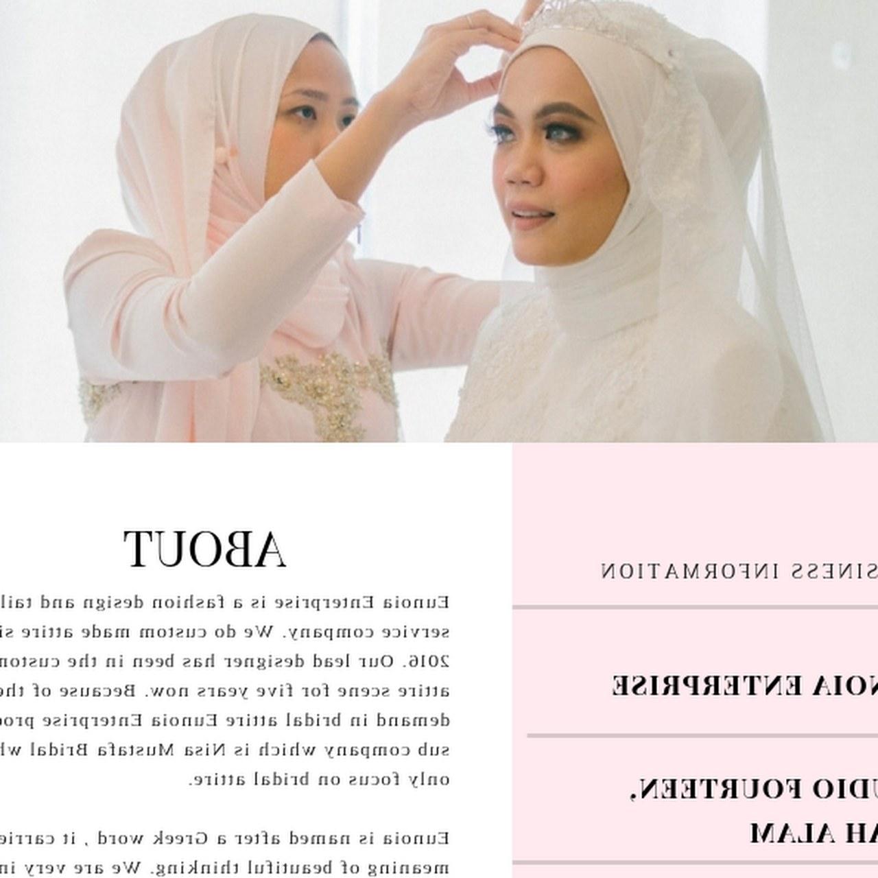 Bentuk Seragam Bridesmaid Hijab Wddj Eunoiabynisa Art Studio In Seksyen 14