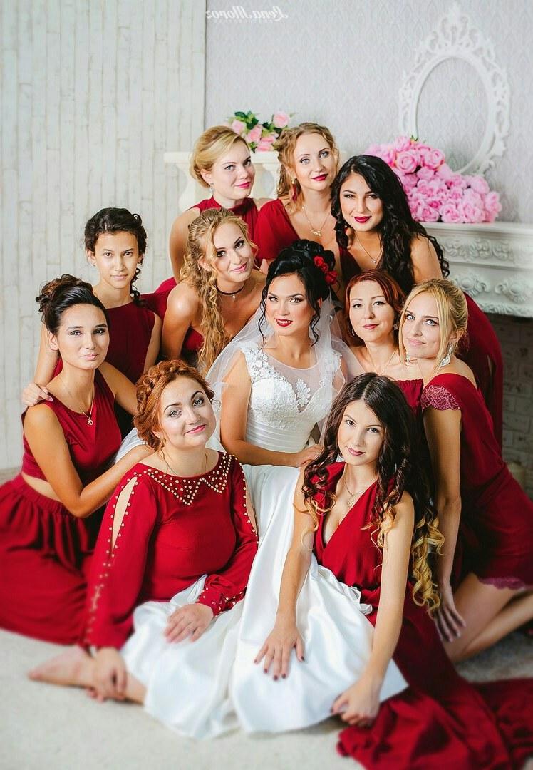 Bentuk Seragam Bridesmaid Hijab Y7du Our Brides