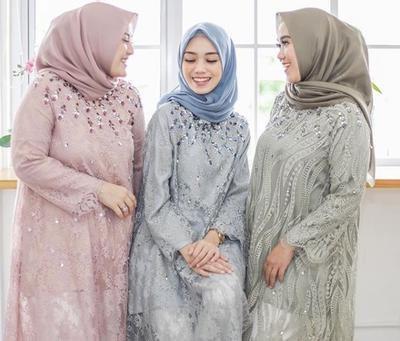 Design Baju Gamis Untuk Pesta Pernikahan Bqdd forum] Inspirasi Model Baju Gamis Brokat Terbaru