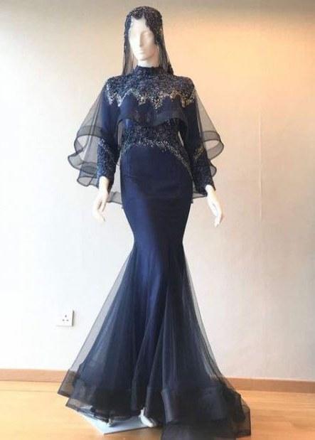 Design Dress Hijab Bridesmaid Dwdk 32 Ideas Dress Brokat Duyung