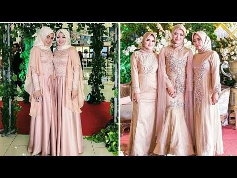 Design Gamis Resepsi Pernikahan Irdz Videos Matching Inspirasi Kekinian Gaun Kebaya Pesta Mermaid