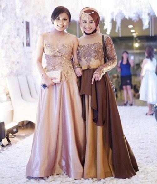 Design Gamis Untuk Acara Resepsi Pernikahan 8ydm 30 Model Gamis Untuk Undangan Pernikahan Fashion Modern