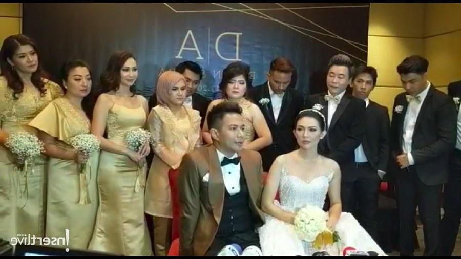 Design Gamis Untuk Acara Resepsi Pernikahan Etdg Delon Dan Aida Gunakan Konsep Elegan Dan Mewah Di Resepsi