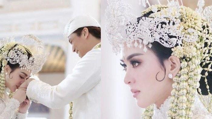Design Gamis Untuk Acara Resepsi Pernikahan Q0d4 Syahrini 3 Kali Ganti Gaun Dalam Acara Makan Malam
