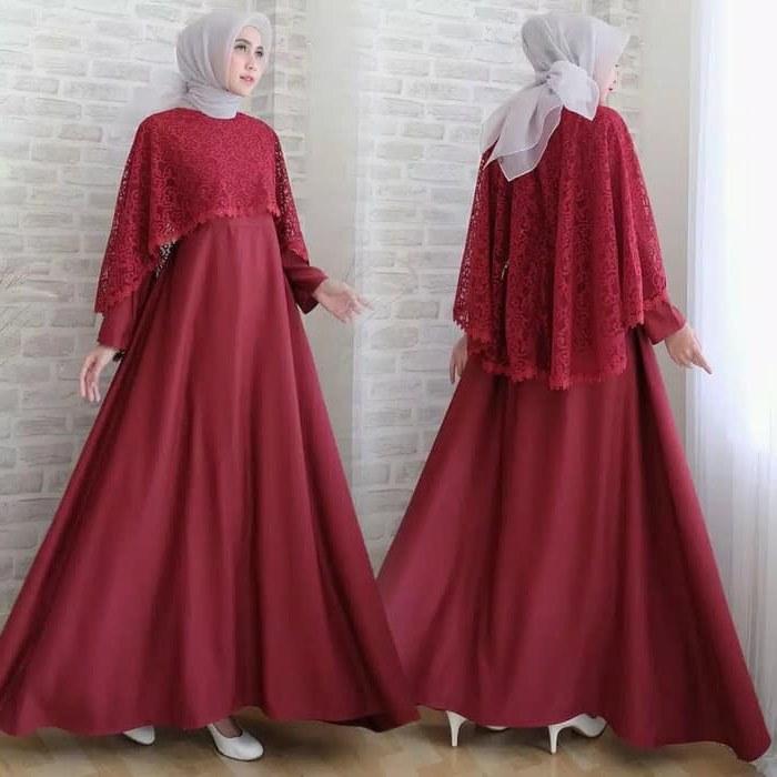Design Gamis Untuk Acara Resepsi Pernikahan U3dh Jual Produk Baju Gamis Pesta Pernikahan Murah Dan Terlengkap