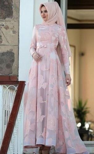 Design Gamis Untuk Acara Resepsi Pernikahan Whdr 30 Model Gamis Brokat Untuk Pesta Pernikahan Fashion