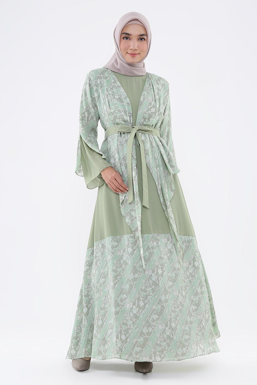 Design Model Baju Gamis Pesta Pernikahan 3ldq 101 Model Baju Batik Terbaru Nazeefah