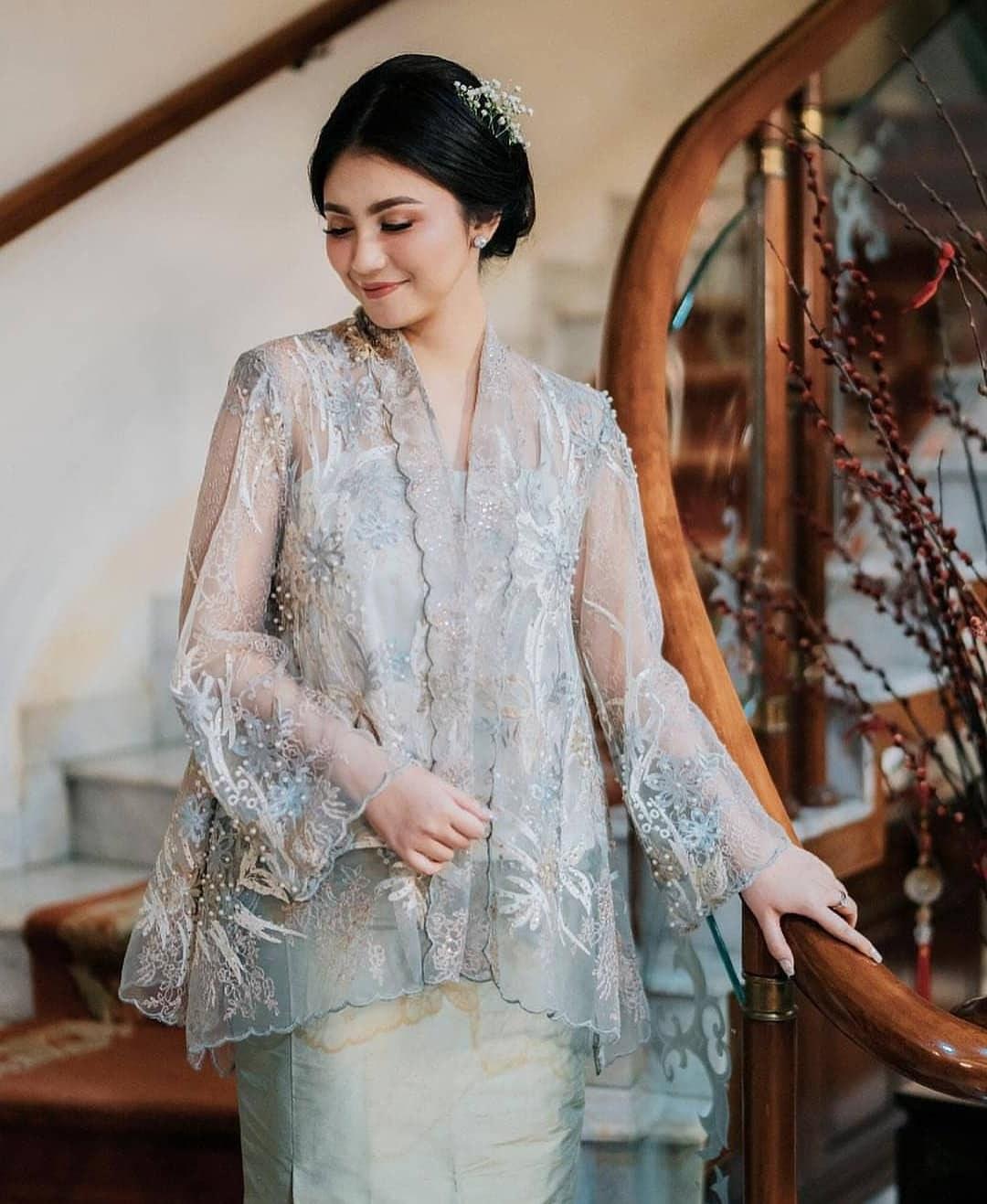 Design Model Baju Gamis Pesta Pernikahan Budm 54 Model Kebaya Modern 2020 Inspirasi Wanita Terbaru