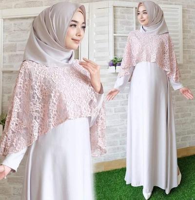 Design Model Baju Gamis Pesta Pernikahan Dwdk Simple Tapi Elegant Inilah Model Baju Muslim Terbaru 2019