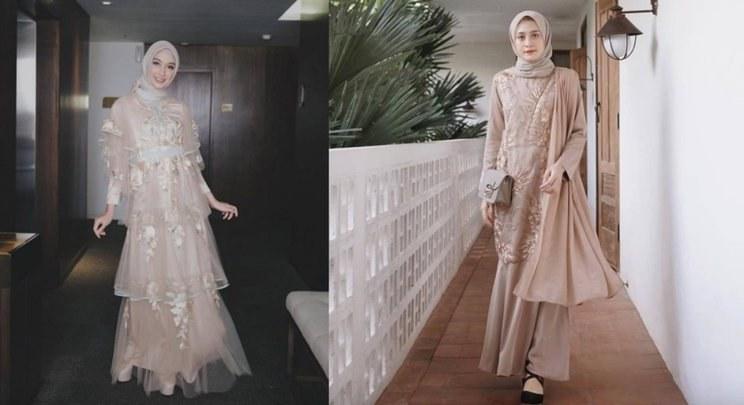 Design Model Baju Gamis Pesta Pernikahan O2d5 10 Inspirasi Baju Bridesmaid Muslimah Yang Modis Dan Elegan