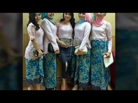 Design Model Baju Gamis Pesta Pernikahan Tqd3 Videos Matching 15 Model Baju Muslim Kebaya Modern Kombinasi