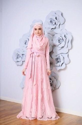 Design Model Baju Gamis Pesta Pernikahan X8d1 Model Baju Pesta Wanita 2019