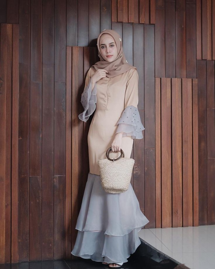 "Design Model Dress Bridesmaid Hijab 9fdy Malaysia Latest Baju Kurung Aghni Di Instagram ""baju"