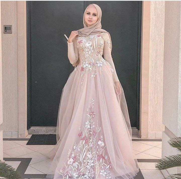 Design Model Dress Bridesmaid Hijab Jxdu Pink ❤️ In 2019
