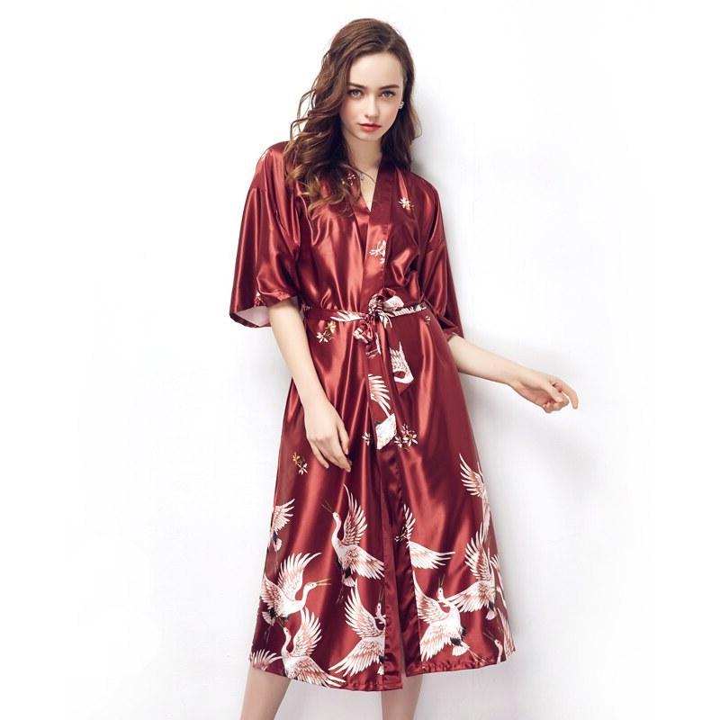 Design Model Gamis Untuk Pernikahan T8dj Us $6 4 Off Elegan Wanita Pernikahan Pengantin Pengiring Pengantin Jubah Wanita Baju Tidur Rumah Gaun Spa Kimono Jubah Mandi Musim Panas Baju