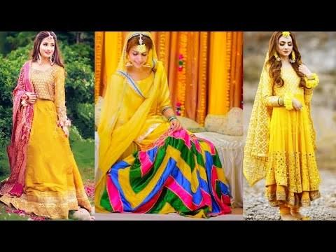 Design Ootd Bridesmaid Hijab E9dx Videos Matching Haldi Function Dresses