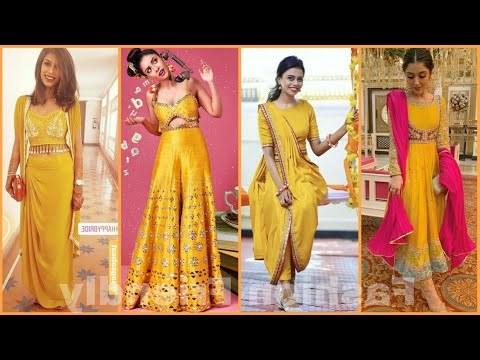 Design Ootd Bridesmaid Hijab Tqd3 Videos Matching Haldi Function Dresses