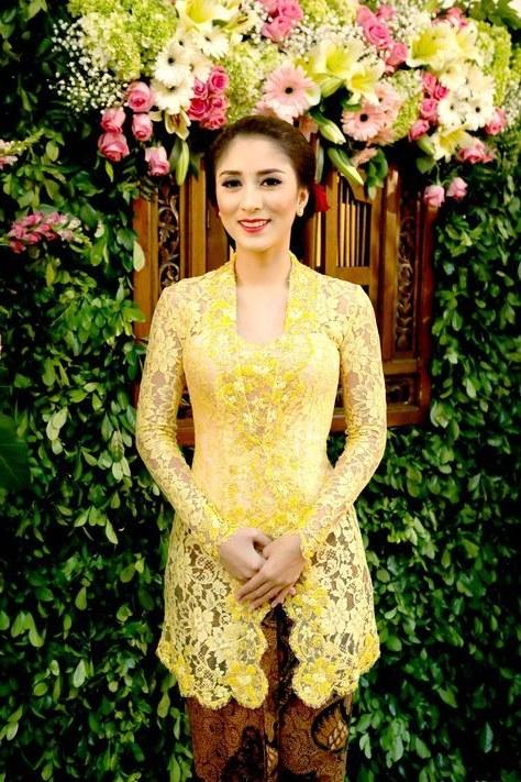 Design Seragam Gamis Pernikahan Tldn Dress Yellow Brokat 68 Trendy Ideas