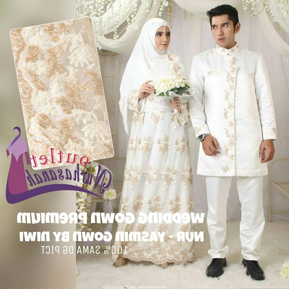 Design Seragam Gamis Untuk Pernikahan 9fdy Baju Pernikahan Syar I Model Baju Terbaru 2019