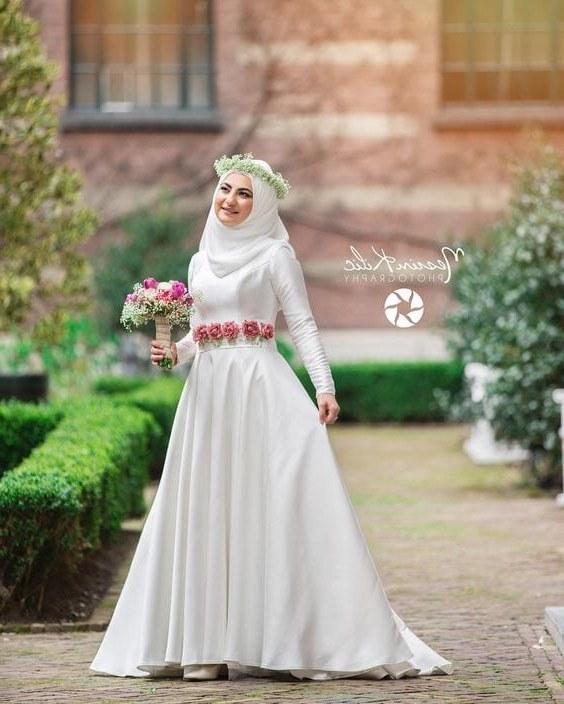 Design Seragam Gamis Untuk Pernikahan O2d5 44 Gaun Pernikahan Wanita Muslim Baru