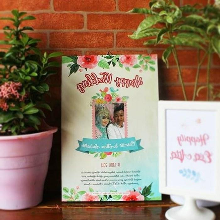 Design Seragam Gamis Untuk Pernikahan Zwdg Jual A4 Custom Wedding Poster Kayu Walldecor Hadiah Kado Pernikahan 05 Kab Tangerang Selzstore