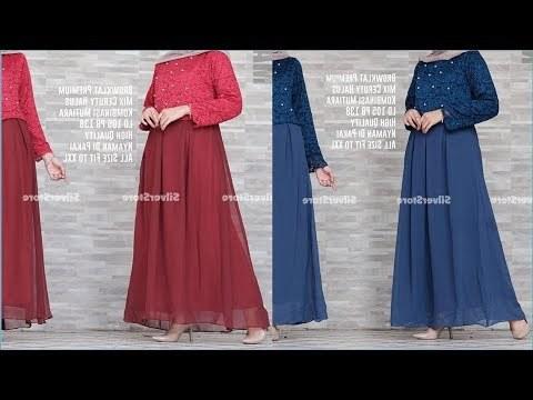 Ide Gamis Brokat Pernikahan Bqdd Videos Matching Gamis Brokat Model Masakini Dan Paling Hits