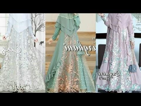 Ide Gamis Brokat Pernikahan Ffdn Videos Matching Model Gamis Brokat Dan Kombinasi Brokat