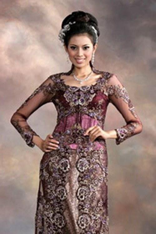 Ide Gamis Brokat Pernikahan Q5df Kebaya Modern Wedding Dress
