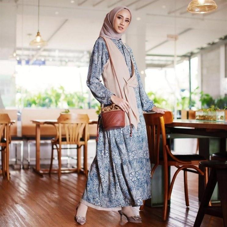 Ide Gamis Brokat Pernikahan Txdf 26 Contoh Model Gamis Model Baju Gamis Terbaru