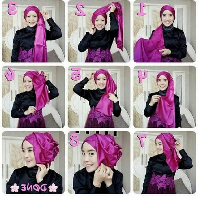 Ide Gamis Pesta Pernikahan O2d5 Model Hijab Resepsi Hijab Lebaran