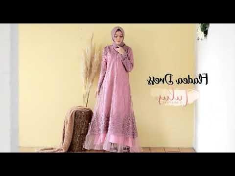 Ide Gamis Pesta Pernikahan X8d1 Videos Matching Gaya Model Busana Brokat Cantik Beautiful