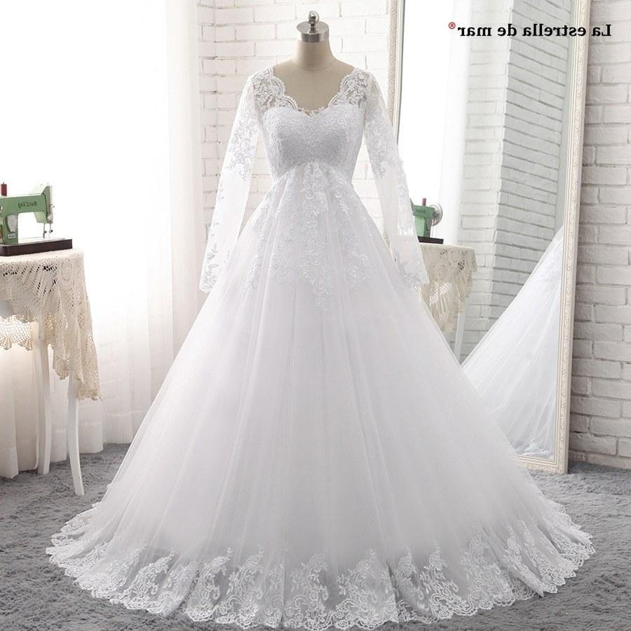Ide Gamis Untuk Pernikahan Q5df Jark tozr Baru Tiba Lengan Panjang Pernikahan Gaun Turki